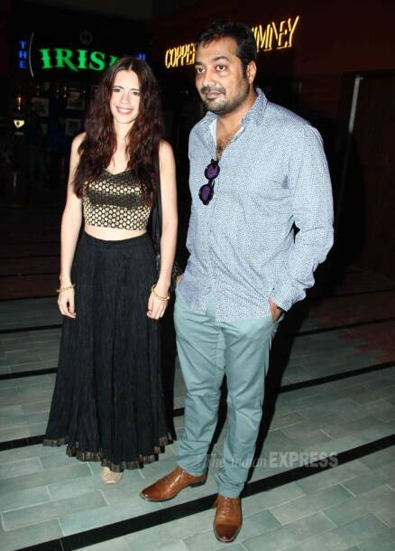 Anurag Kashyap's movie date with estranged wife Kalki Koechlin