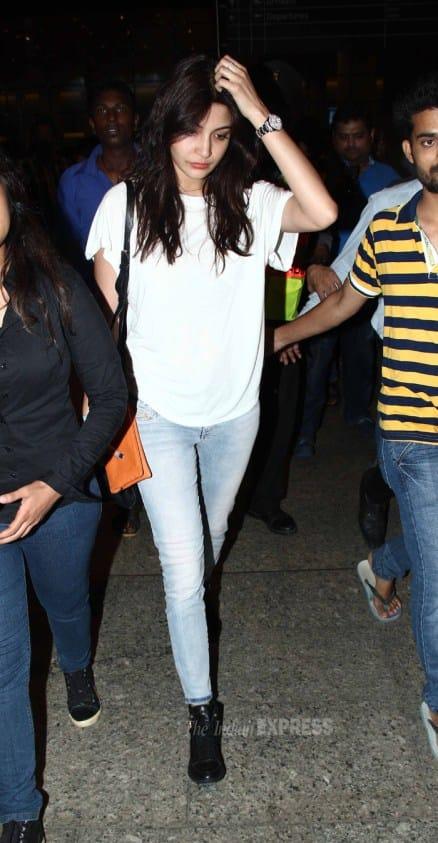 Anushka Sharma, Anil Kapoor, Hrithik Roshan back from overseas trip