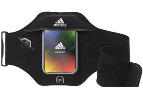 Get this armband for strapping your phone to your arm.