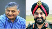 Turning down the heat: Army chief calls on V K Singh
