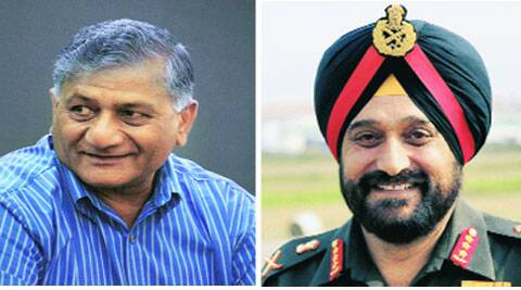 Gen Bikram Singh also offered Army assistance to implement development projects in the states.
