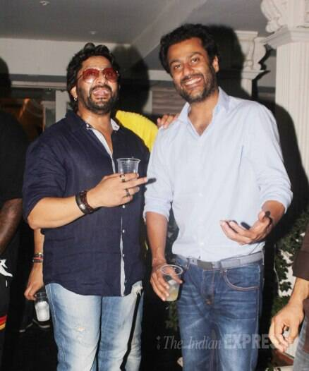 Yuvraj Singh, Aditi, Richa at Amit Sadh's birthday bash