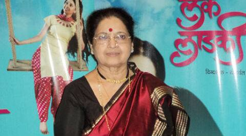 Ashalata Wabgaonkar was given a lifetime achievement award for her contribution to Marathi theatre and cinema.