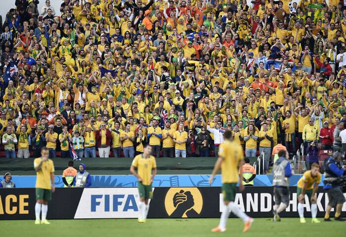 Australian fans hailed their team's unprecedented performance against the mighty Netherlands despite a 2-3 loss. This match will go down the wire as one of the most thrilling encounters in this year's edition of the FIFA World Cup. (Source: AP)