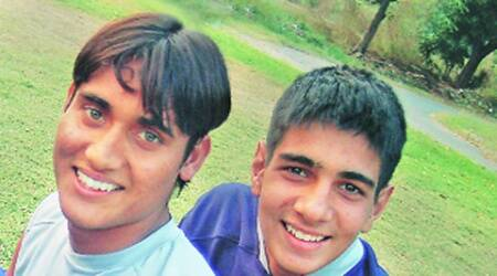 Deepak Devrani (left) and Gurpreet Singh. (Photo: Express)
