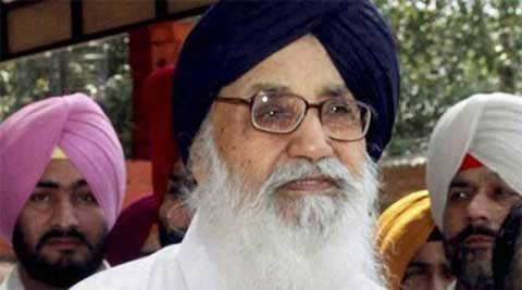 Punjab Chief Minister Parkash Singh Badal (Source: PTI/file)