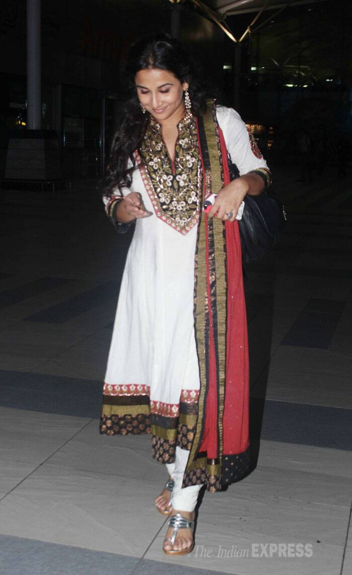 Vidya Balan, the Jasoos is back in Mumbai