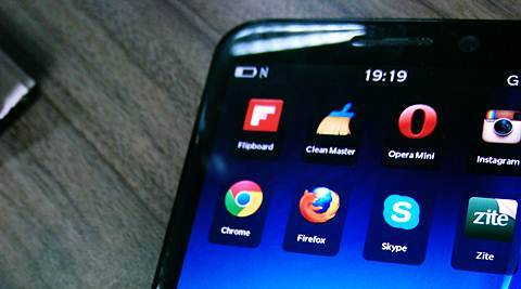 Android apps side loaded on a Z30