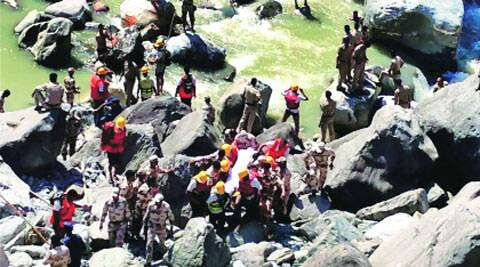 Rescue operations on Thursday. (Source: PTI)