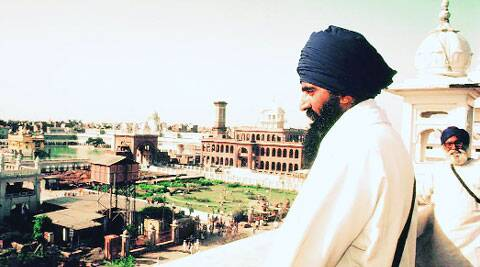 Bhindranwale at the Golden Temple sarai.