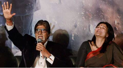 Amitabh Bachchan and Sarika will be seen in television show 'Yudh'.
