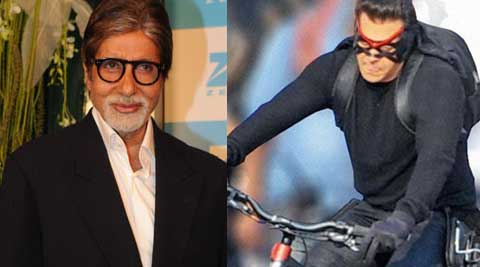 "Earlier this month, Big B had tweeted: ""Did you see the trailer of 'KICK'..baaadooom!! Compares with anything that the other 'wood' brings out from their high end films!"""