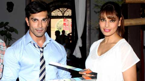 "Bipasha tweeted, ""A Love story with Chills co-starring Karan Singh Grover!"""