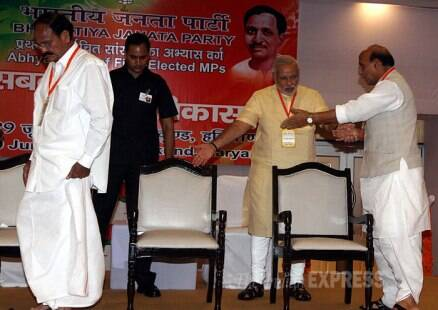 Modi chairs BJP MPs' orientation meet
