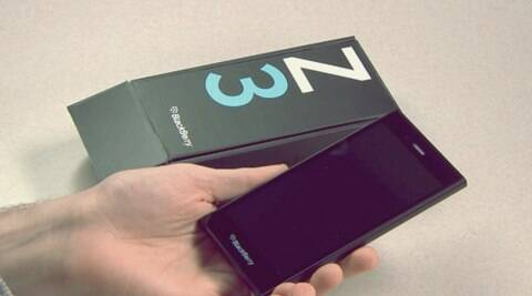 The BlackBerry Z3. (Source: blogs.blackberry.com)