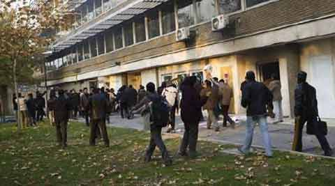 Britain closed its embassy in Tehran in 2011 after it was stormed by a mob and suspended full diplomatic relations. (Reuters)