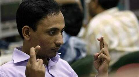 BSE Sensex touched day's high of 25,602.78 and closing at 25,549.72 – up 321.07 points, or 1.27 per cent. (Reuters)