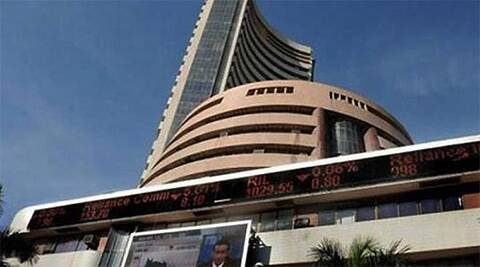 Sensex ends 3.48 pts up at new closing high of 25,583.69. (PTI)