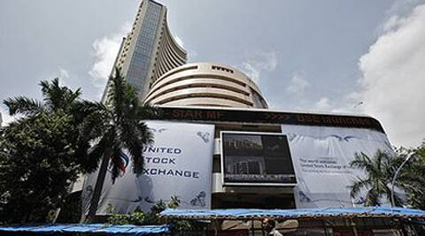 Sensex falls 137.30 points, or 0.54 per cent, to close at 25,444.81. (Reuters)