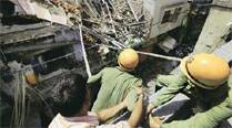 Three-storey building in Sadar Bazar comes crashing down, three killed