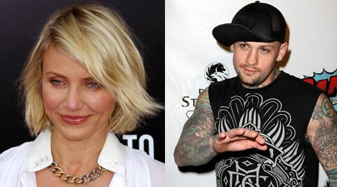 Cameron Diaz and Benji Madden were spotted holding hands in New York.