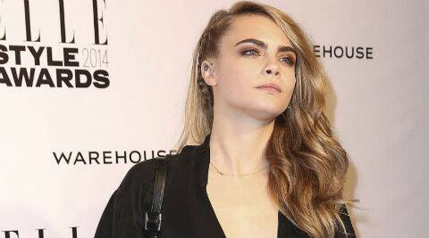 Cara Delevigne: Being a muse for Mulberry, it's just very funny to me. (Source: AP)
