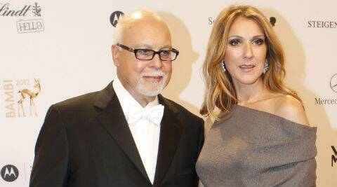 Celina Dion's husband will no longer continue to be her manager. (Source: Reuters)