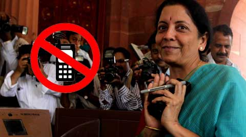 CBI director Ranjit Sinha was one of the first to put such a ban on cellphones in place.