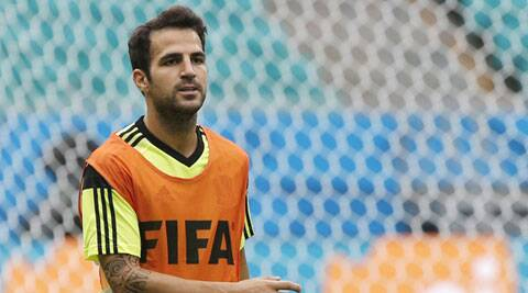 Spain's Cesc Fabregas moved to Chelsea from Barcelona at the end of the season (Source: AP)