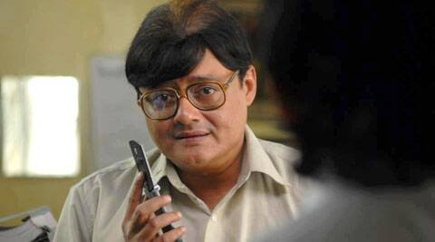 Saswata Chatterjee had to go through an elaborate three-hour make-up ritual each day to get into the character of a patriarch of a joint family.