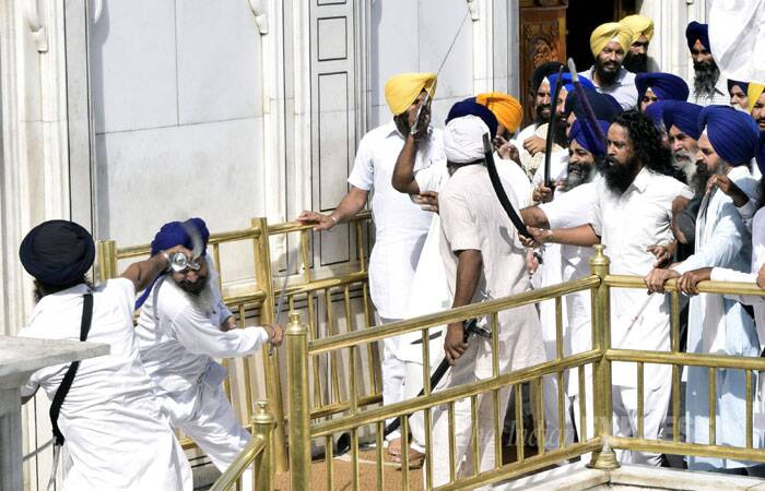 Operation Blue Star, carried out on June 6, 1984 to flush out Sikh extremists led by Jarnail Singh Bhindranwale from the Golden Temple, had left many soldiers, militants and devotees dead. (Source: Express photo by Rana Simranjit Singh)