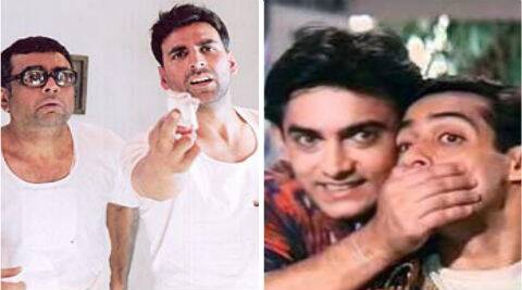 According to an online poll, 'Hera Pheri' and 'Andaz Apna Apna' are the best comedy films in Bollywood.