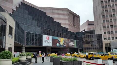 One of the venues of the Computex 2014 at Taipei. Shot with a Samsung Galaxy S5 (Source: Express photo by Nandagopal Rajan)