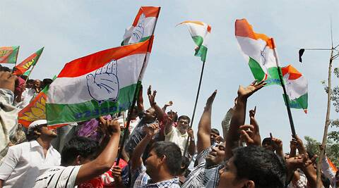 The Congress, which had won seven of the state's 14 Lok Sabha seats in 2009, could win only three this time.