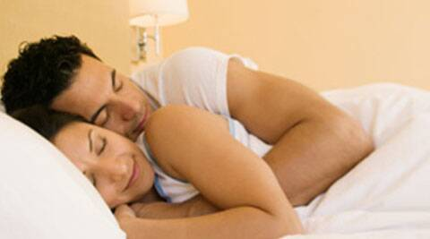 Researchers found that overall synchrony in sleep-wake schedules among couples was high, as those who slept in the same bed were awake or asleep at the same time about 75 per cent of the time.