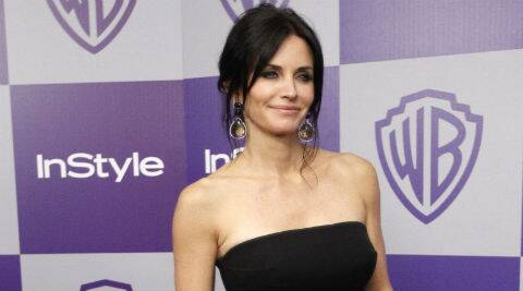Courtney Cox met Johnny through Ed Sheeran. (Source: Reuters)