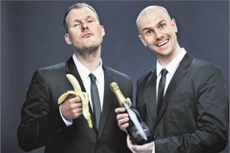 Tthe musicians swear by bananas and champagne combination