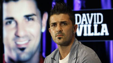 David Villa will play a 10-match guest stint in the A-League with the re branded Melbourne City. (Source: AP)
