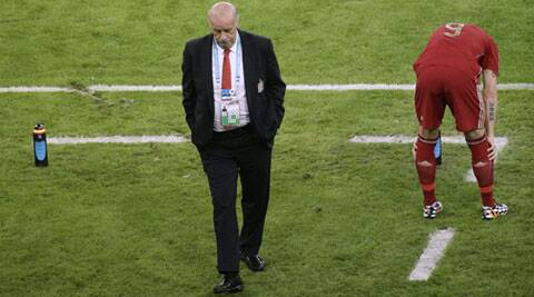 Del Bosque, 63, took over the Spain team from the late Luis Aragones after they won Euro 2008 and led them to victory at the World Cup in South Africa (Source: AP)