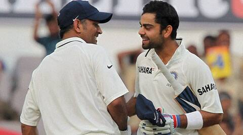 Mahendra Singh Dhoni and Virat Kohli. (Source: PTI File)