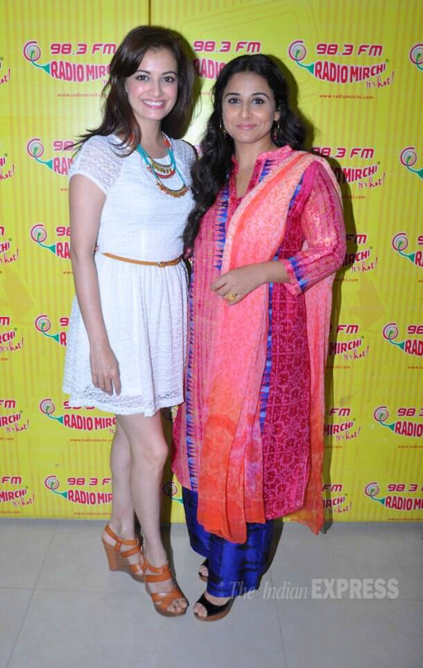 Vidya Balan, Dia Mirza promote 'Bobby Jasoos' on Entertainment Ke Liye Kuch Bhi Karega