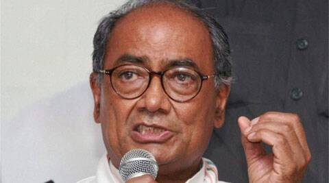 Congress General Secretary Digvijay Singh. (Source: PTI)