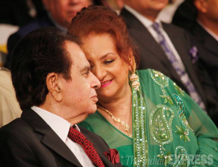 The who's who of Bollywood  including megastar Amitabh Bachchan, veteran actor Dharmendra, superstar Aamir Khan, Zeenat Aman, Vyjyanthimala, Priyanka Chopra, Madhuri Dixit among others launched the autobiography of Bollywood's tragedy king Dilip Kumar titled, 'The Substance And The Shadow' on Monday (June 9) in an extravagant affair. Dilip Kumar was seen hand-in-hand with wife and veteran actress Saira Banu. (Source: Varinder Chawla)