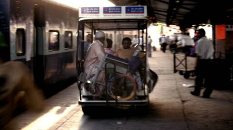 Northern Railway spokesperson said golf carts were introduced at New Delhi railway station to ferry the differently-abled