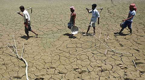 Gujarat is reeling under extreme dry weather conditions and the deficit here has mounted to 88 from 78 per cent till June 17.