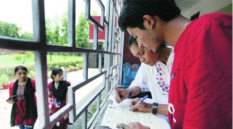 DU is considering reducing the number of foundation courses.(Source: Express Photo)