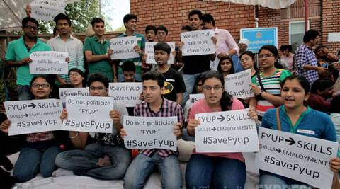 In its proposal to UGC, DU suggested that the B.Tech be of four years. (Source: Express Photo)