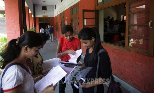 DU admissions in full swing