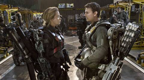 Movie review Edge of Tomorrow.