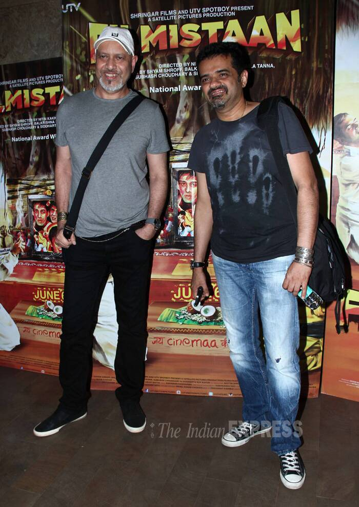 Music composers Ehsaan Noorani and Loy Mendonsa smile for a picture. (Source: Varinder Chawla)